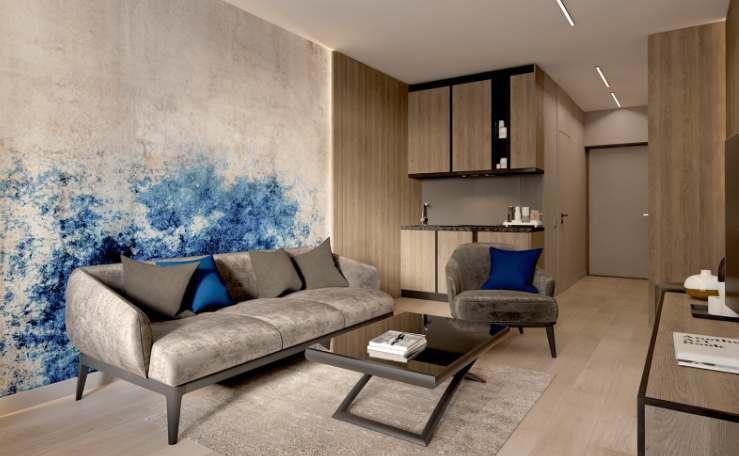 Standard One Терминал: дизайн апартаментов