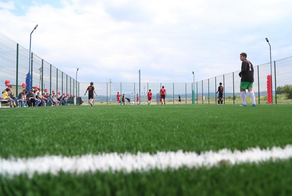 В селі на Тисмениччині реконструюють стадіон