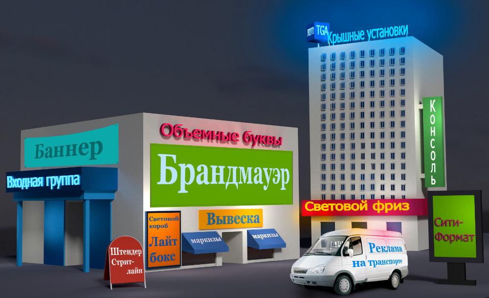 Особенности наружной рекламы