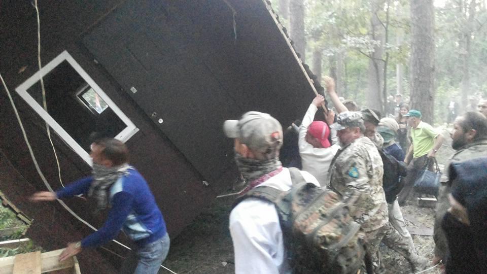 ВКиеве батальон ОУН требует отставки Матиоса иГрицака