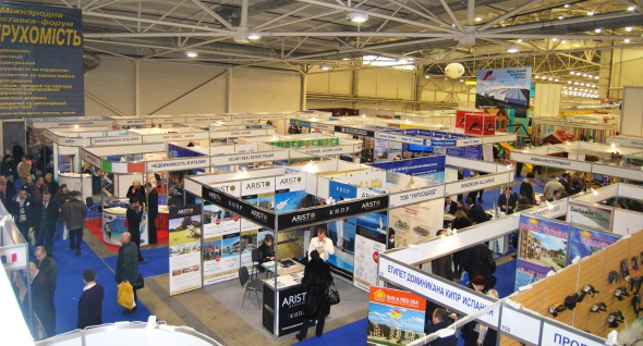 Октябрьская выставка  «Международная недвижимость-2015» приглашает в Киев