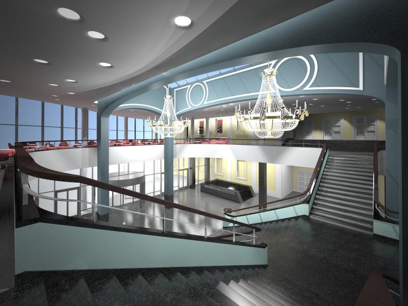 Будущий вестибюль