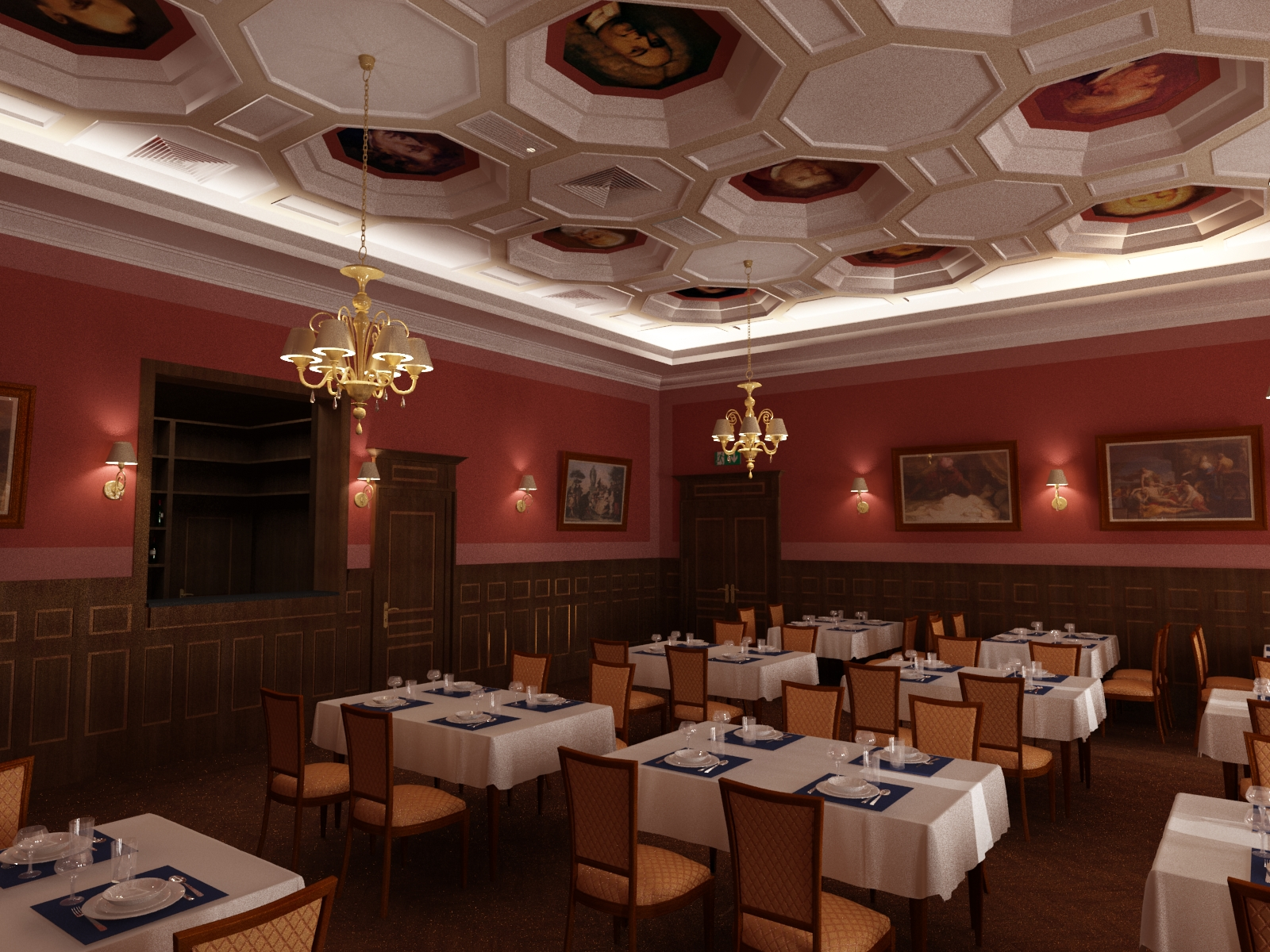 Будущий ресторан