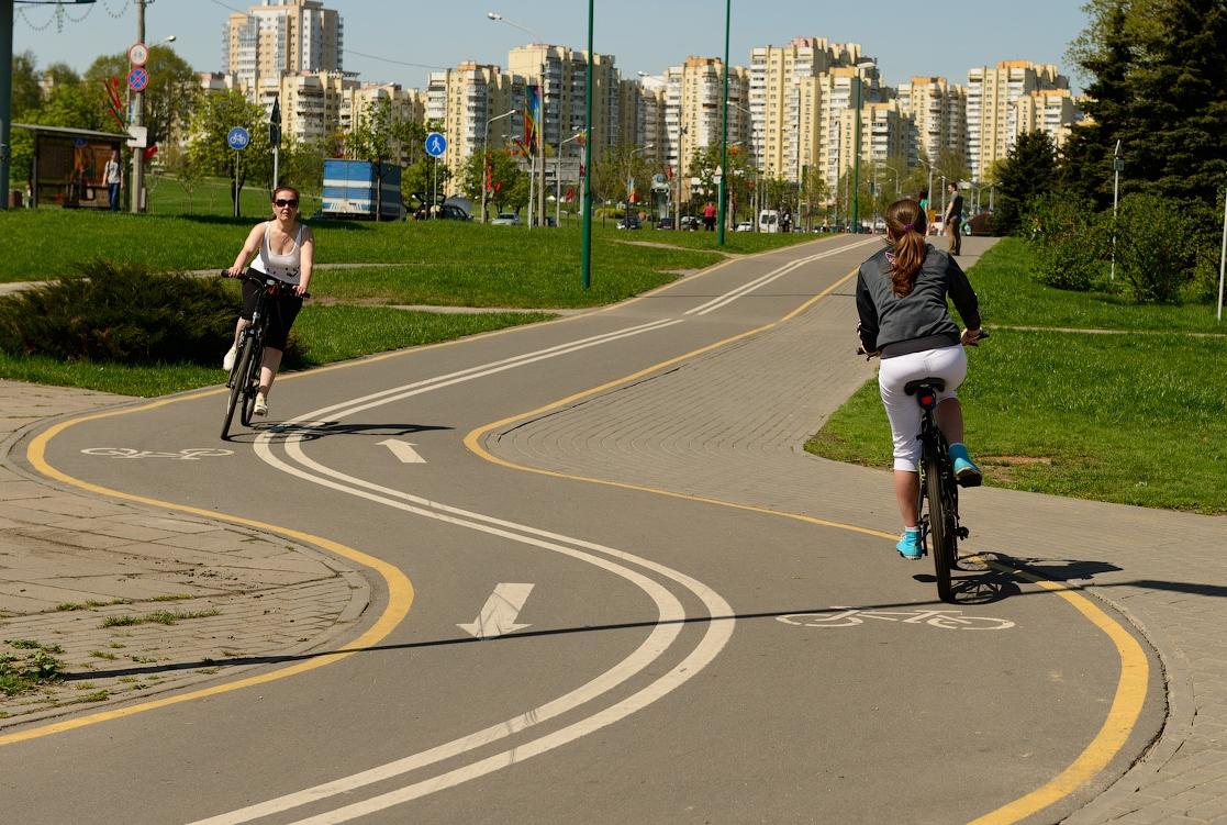 ВКиеве афишировали план развития велосипедной инфраструктуры (схемы)