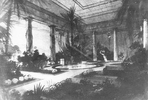 Зимний сад во Дворце пионеров