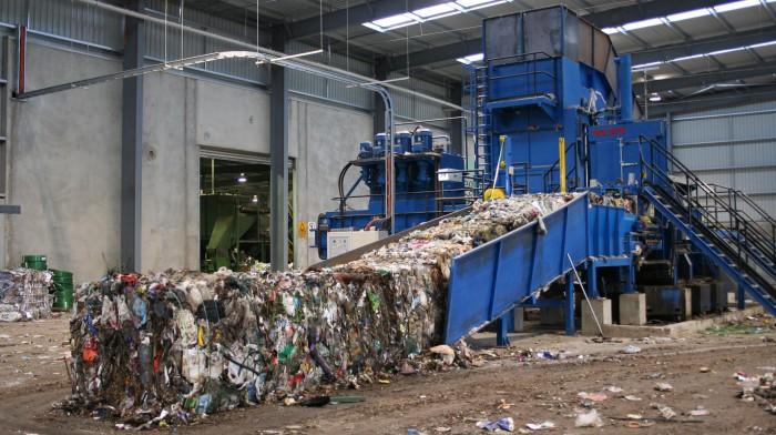 Строительство завода по сортировке мусора приостановилось