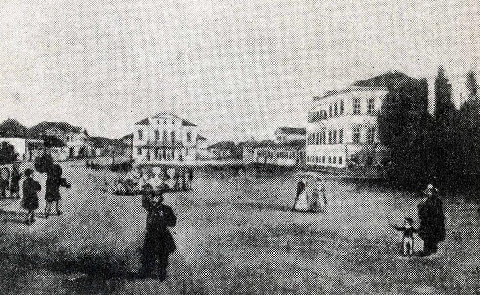 В 1842 году завершается строительство театра, который сегодня носит имя Тараса Шевченко