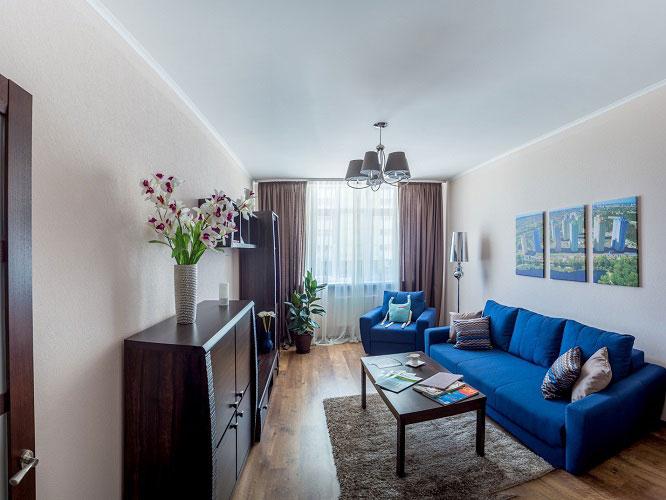 Náklady na opravu bytu v novej budove v Kyjeve 2017