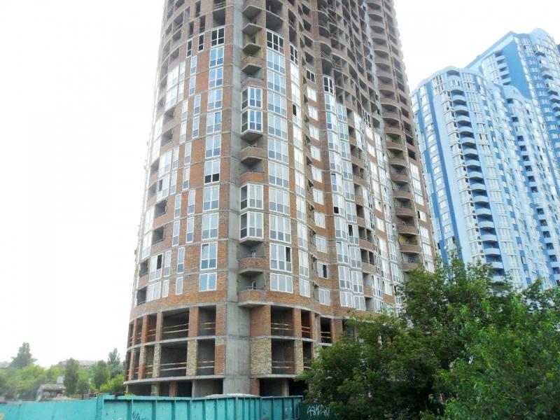 Фотоотчет строительства ЖК по пр. Воссоединения, оч. II, в Днепровском р-не столицы