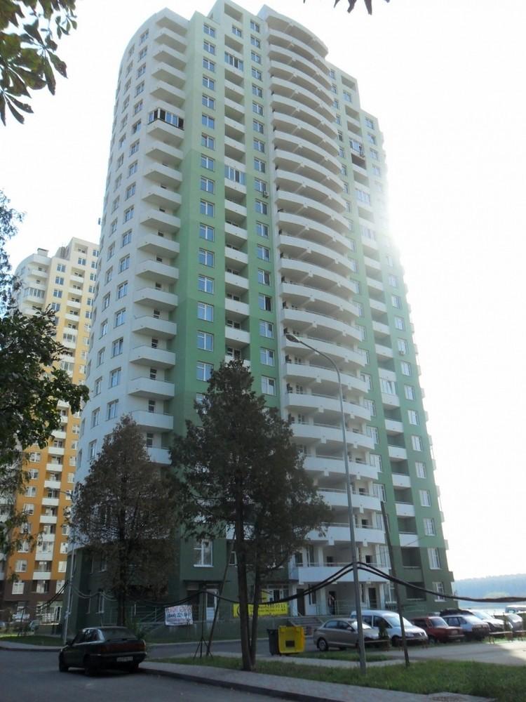 Ход строительства ЖД по ул. Обуховская, в Святошинском р-не столицы