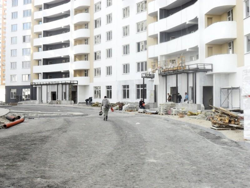 Фотоотчет строительства ЖК «Позняки» (очередь I), в Дарницком р-не столицы