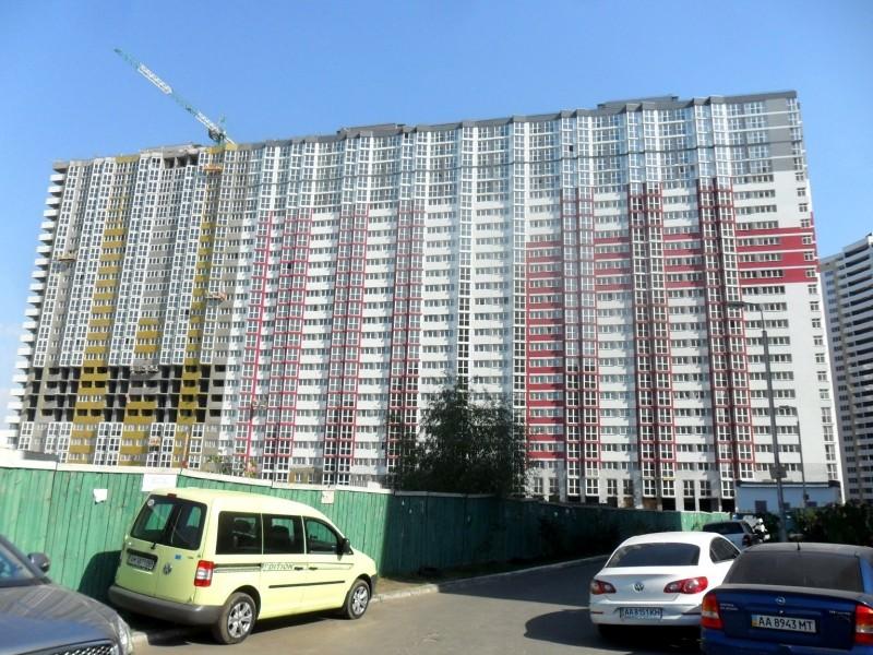 Фотоотчет строительства ЖК «Позняки» (очередь III), в Дарницком р-не столицы