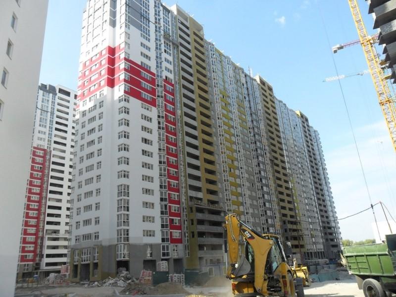 Фотоотчет строительства ЖК «Позняки» (очередь IV), в Дарницком р-не столицы