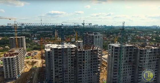 «Киевгорстрой» восстановил работы настройплощадках