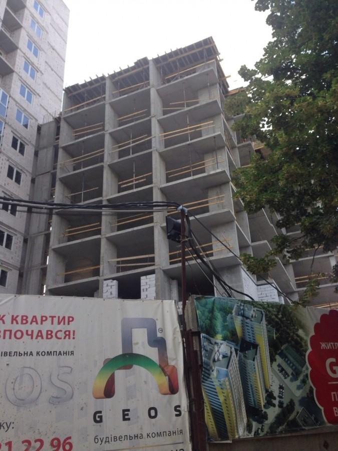 Новости строительства ЖК «GENEVA» в Соломенском районе