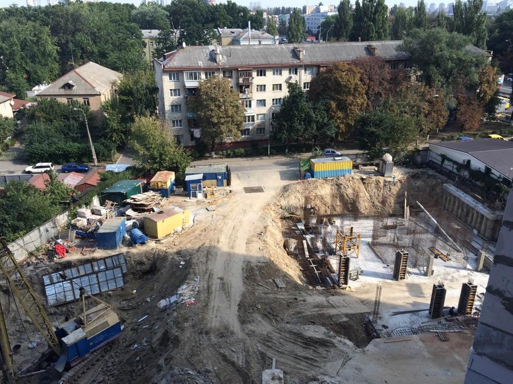 Новости строительства ЖК «Gloria Park» в Шевченковском р-не столицы