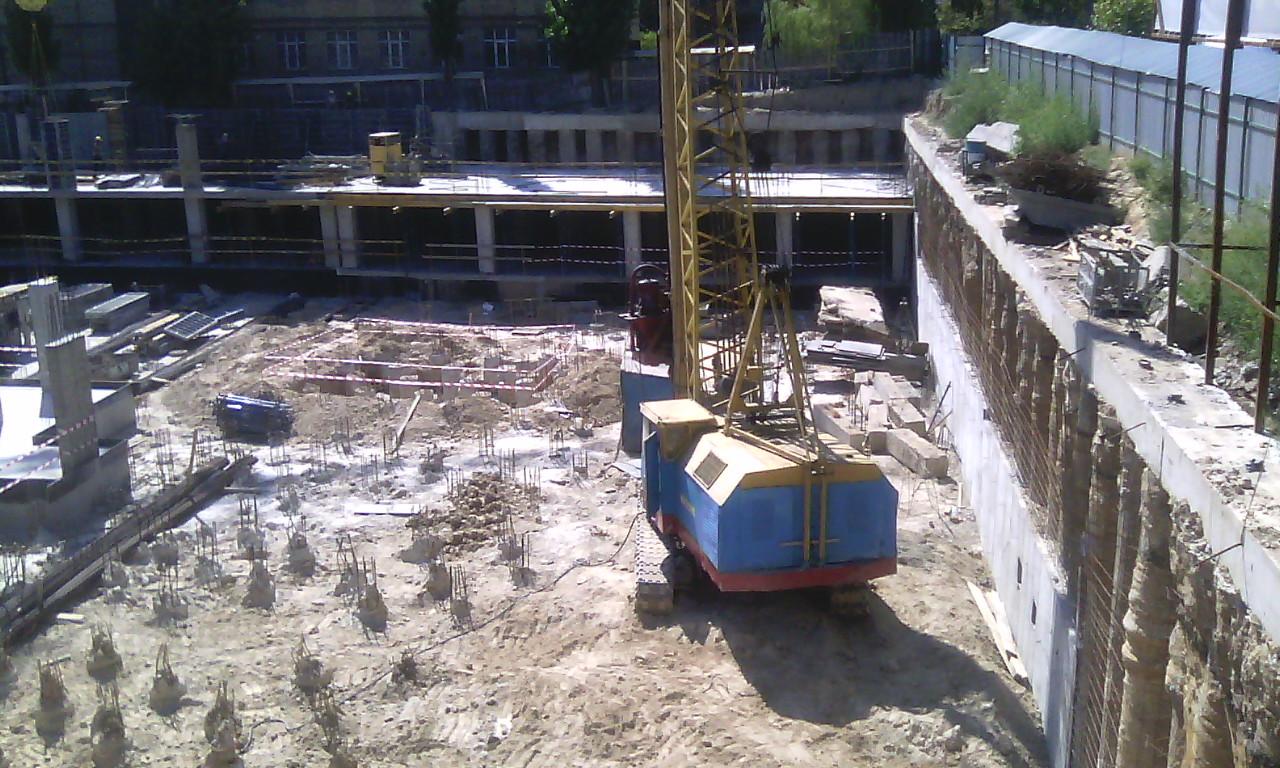 Фотоотчет строительства ЖК «Richmond», в Печерском р-не столицы