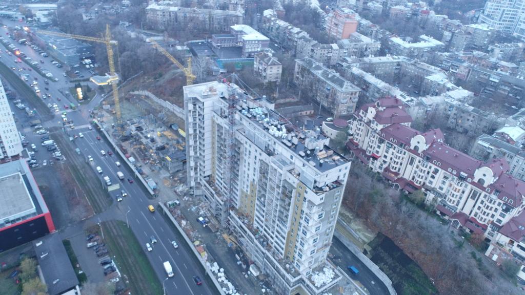 Строительство дома на Клочковской, 98а