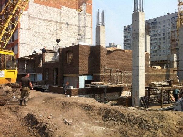 4 секция (очередь 6) Перекрытие 1 этажа
