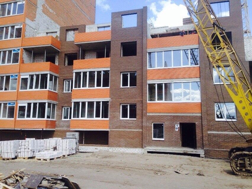 Секция 4 очередь 6  возведение 4 этажа