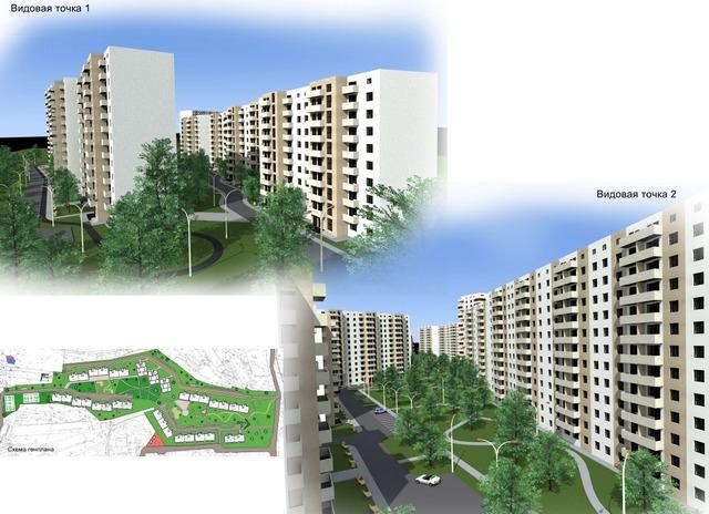 Жилой комплекс на ул. Елизаветинской (рис.2)