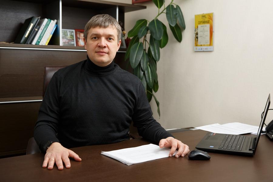 """Генеральный директор """"Space company""""  Виталий Бессонов"""