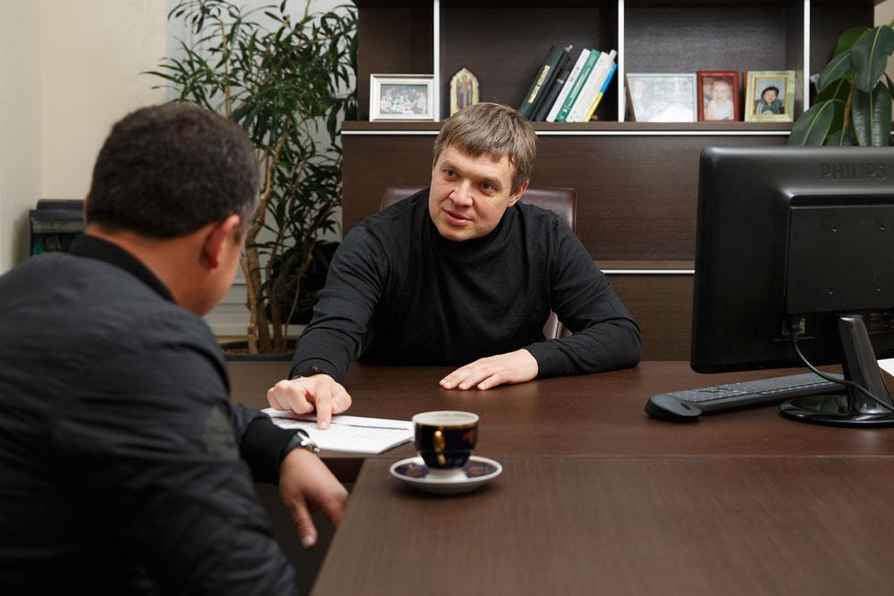 """Гениральный директор компании """"Space company"""" Виталий Бессонов"""
